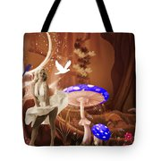 Marilyn Monroe In Fantasy Land Tote Bag