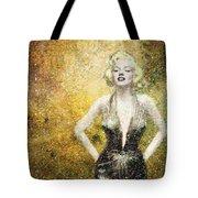 Marilyn Monroe In Points Tote Bag