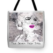 Marilyn Monroe Movie Poster Tote Bag