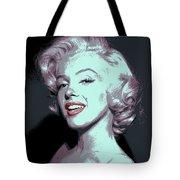 Marilyn Monroe Pop Art Tote Bag by Daniel Hagerman