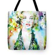 Marilyn Monroe Portrait.1 Tote Bag