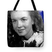Marilyn Monroe Then Norma Jeane Dougherty Photo By H. Maier Studios Los Angeles Ca C.1943-2014 Tote Bag