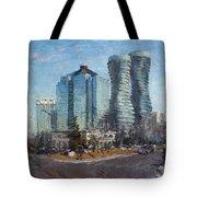 Marilyn Monroe Towers Tote Bag