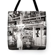 Marilyn On Route 66 Tote Bag