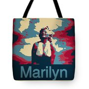 Marilyn Poster Tote Bag
