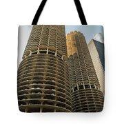 Marina City Chicago Tote Bag
