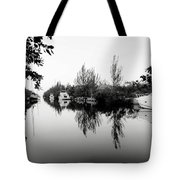 Marina Drive Canal Tote Bag