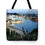 Marina Overlook Tote Bag