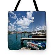 Marina St Thomas Virgin Islands Tote Bag
