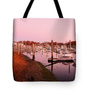 Marina Sunrise Tote Bag