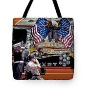 Marine And Wounded Warrior Tote Bag