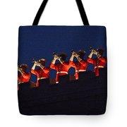 Marine Band At Night Tote Bag