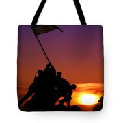 Marine Corps Memorial Tote Bag