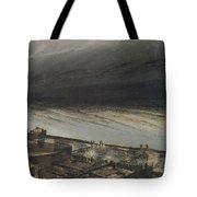 Marine Terrace In Jersey Tote Bag