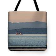 Marine Traffic Tote Bag