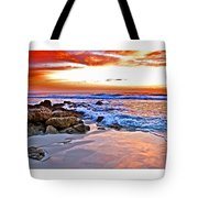 Marineland Sunrise Tote Bag