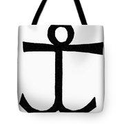 Mariner's Cross Tote Bag