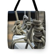 Mariners Knots Tote Bag