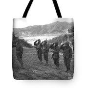 Marines Of The 5th Marine Regiment Tote Bag