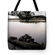 Marion Lake And The Moon Tote Bag