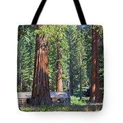 Giant Sequoias Mariposa Grove Tote Bag