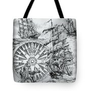 Maritime Heritage Tote Bag