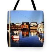 Maritme Shadows And Reflections Tote Bag