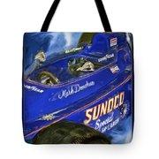 Mark Donohue 1972 Indy 500 Winning Car Tote Bag