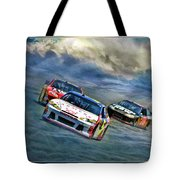 Mark Martin Tote Bag