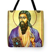 Mark The Evangelist Icon Tote Bag