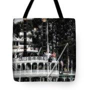 Mark Twain Riverboat Frontierland Disneyland Vertical Sc Tote Bag