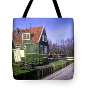 Marken Village Architecture Tote Bag