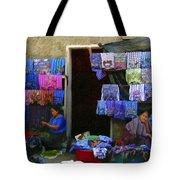 Market At Santiago Atitlan Guatemala Tote Bag