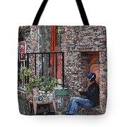 Market Busker 15 Tote Bag