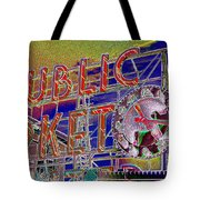 Market Clock 1 Tote Bag