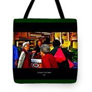 Market Day In Chinatown  Tote Bag
