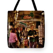 Market Fresh At Pike Place Market Tote Bag