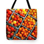 Market Fresh Tomatos Tote Bag