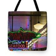 Market Grill Tote Bag