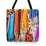 Market Hammocks In El Casco By Diana Sainz Tote Bag