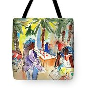 Market In Teguise In Lanzarote 03 Tote Bag
