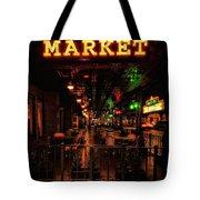 Market On Houston Tote Bag