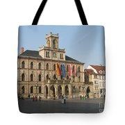 Market Place Weimar - Unesco Heritage Site Tote Bag