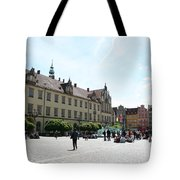 Market Place Wroclaw Tote Bag