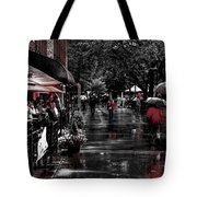 Market Square Shoppers - Knoxville Tennessee Tote Bag