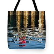 Marking The Tides Tote Bag