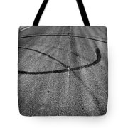 Marks In Our Road  Tote Bag