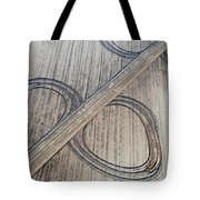 Marks On The Ground Aerial Photography Tote Bag
