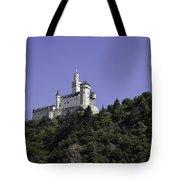 Marksburg Castle 24 Squared Tote Bag