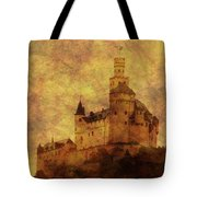 Marksburg Castle In The Rhine River Valley Tote Bag